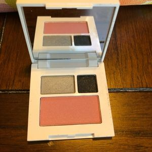 Clinique. Never used eye shadow and blush